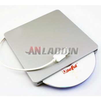 External drive USB removable drive slot-loading DVD burner drive for Apple