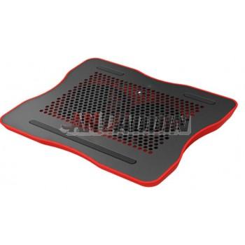 Fashion 15.6'' aluminum laptop cooler