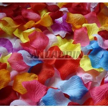 Fiber cloth wedding simulation petals