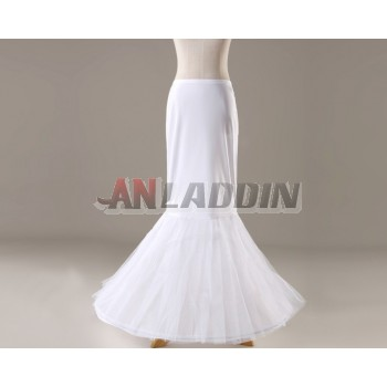 Fishtail elasticity dress pannier