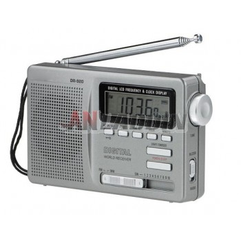 Full-band portable radio