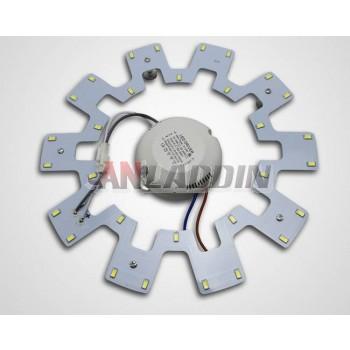 Gear-shaped 12W-20W 5730 SMD LED lights panel