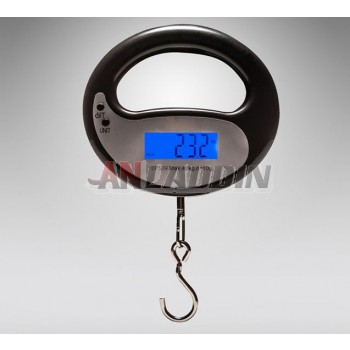 Held portable electronic scale
