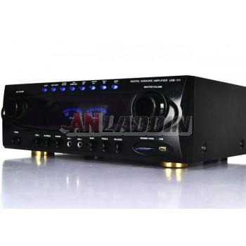 HIFI household high power amplifier / AV amplifier with USB card