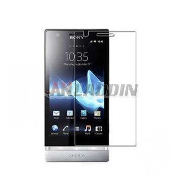 High transparent screen protective film for Sony lt22i