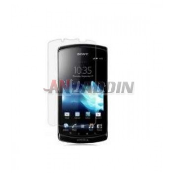 High transparent screen protective film for Sony mt25i