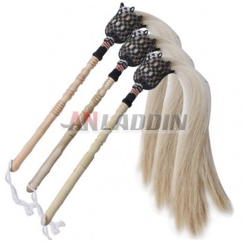 horse hair Tai Chi whisk
