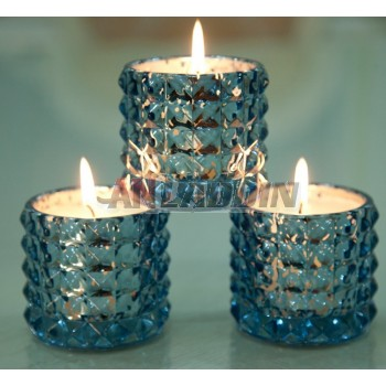 imitation diamonds aromatherapy candle