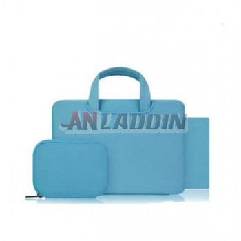 Laptop handbag + Sleeve bag+mouse pad