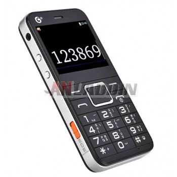 Large font large screen mobile phone for elderly