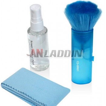 LCD screen cleaner tool kit