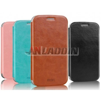 Leather flip cover protective cover for ZTE Q301C / AXON A2015