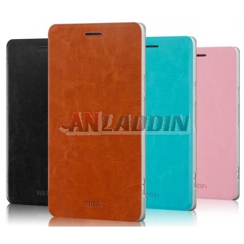 Leather protective cover for ZTE nubia Z7 nx506j