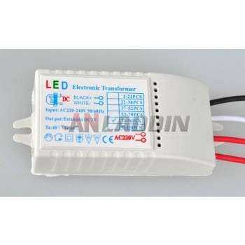 LED driver + LED controller for LED holiday lights