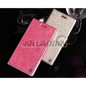 Magnetic snap Flip protective cover for ZTE n919 n919d