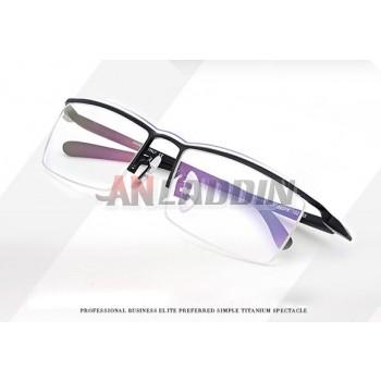 Men's alloy half frame reading glasses frames