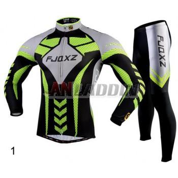 Men's multi-standard long-sleeved riding clothes kit