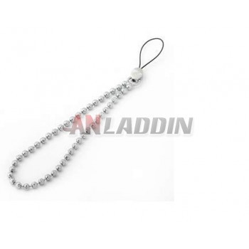 Metal mobile phone chain