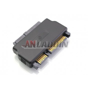 Micro SATA16 pin female to SATA 22 pin female / 1.8-inch hard drive to SATA adapter