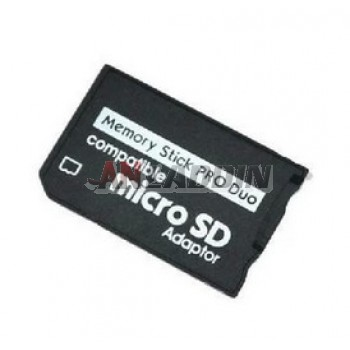 TF / micro sd to MS card adapter