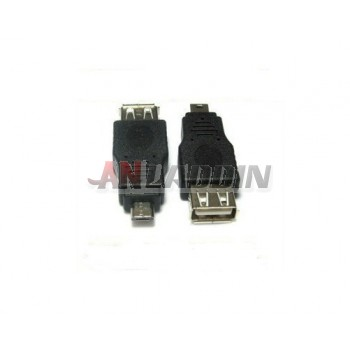 Micro USB male to USB female adapter / OTG Adapter