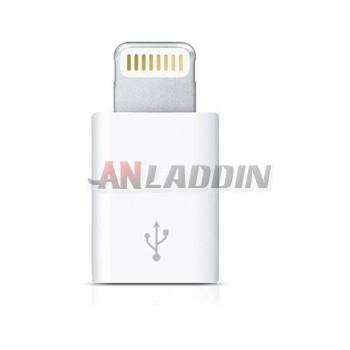 micro usb to lighting usb cable adapter