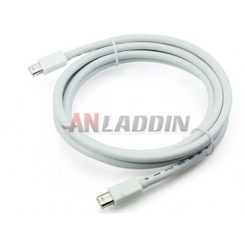 Mini DisplayPort to mini dp cable