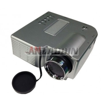 Mini home projector / 1080p/3D projection / mobile phone led mini projector