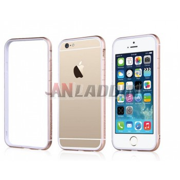 Minimalist silicone border protective cover for iphone 6