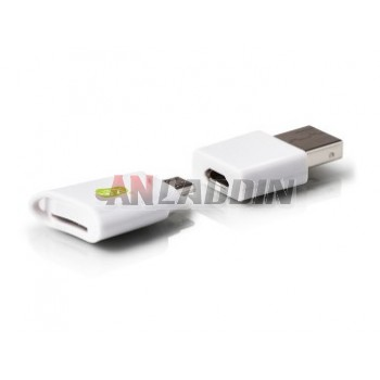 Mobile computer micro USB card reader