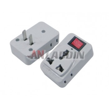 Mobile phone charger adapter plug / adapter plug with switch