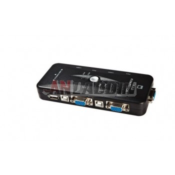 MT-401UK 4-port KVM Switch USB KVM Switch