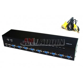 MT-801UK-L 8Port USB KVM Switch
