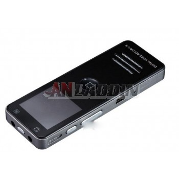 Multi-function digital voice recorder with clock radio function