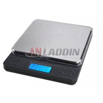 Multi-standard Pocket Scale / Mini Electronic jewelry scale 0.01g / 0.05g / 0.1g