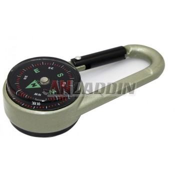 Multifunction Mini Keychain Compass