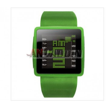 Multifunctional smart watch with MP4 player / waterproof touch screen