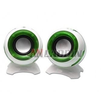 Multimedia mini speaker / portable mini speaker