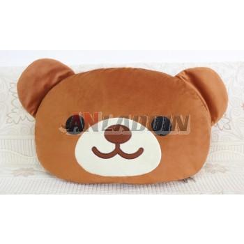 Multipurpose cartoon velvet throw pillow