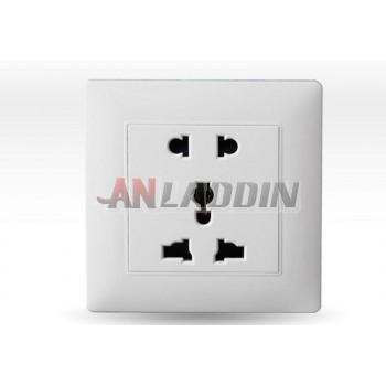 Multipurpose wall socket panel