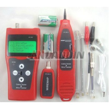 NF-308 hunt instrument / network cable tester