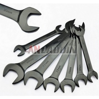 Open-end wrench Black