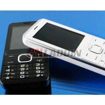 Original keyboard dual sim mobile phone for the elderly