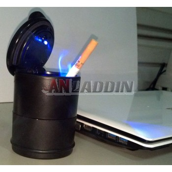 PBT plastic multipurpose LED Ashtray