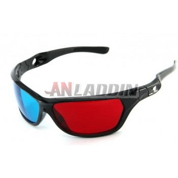 PC and TV 3d glasses / red and blue 3d glasses