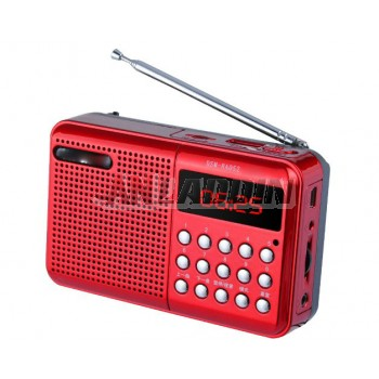 Portable Card Radio / mp3 player