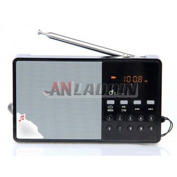 Card speaker / portable radios