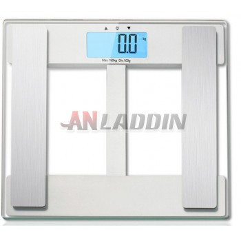 Precision body fat scale / electronic body scale