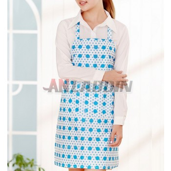 Printing Sleeveless waterproof kitchen aprons