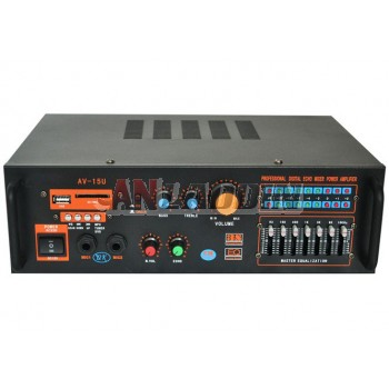 AV high power amplifier / professional home audio amplifier